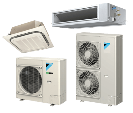 Vrv iv s heat pump rxtq daikin comfort for Innovative heating systems